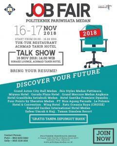 Jobfair-Poltekpar-Medan-2018