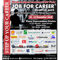 Medan Spectacular Job Fair 2018